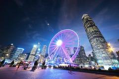 Het wiel van de observatie Stock Foto's