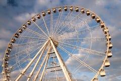 Het wiel van de observatie Royalty-vrije Stock Afbeelding