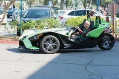 Het 3-wiel van de poolsterskatapult Motorfiets Royalty-vrije Stock Foto