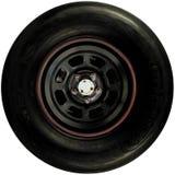 Het wiel van de raceauto Stock Afbeeldingen