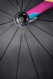 Het wiel van de rasfiets Stock Afbeelding