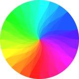 Het wiel van de regenboogkleur Royalty-vrije Stock Foto