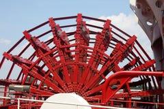 Het wiel van de Riverboatpeddel Royalty-vrije Stock Foto