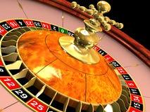 Het wiel van de roulette Royalty-vrije Stock Foto