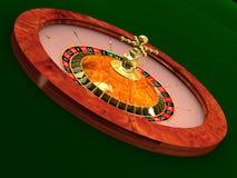 Het wiel van de roulette Stock Fotografie