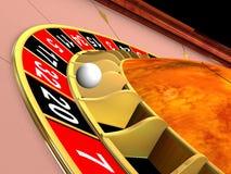 Het wiel van de roulette Royalty-vrije Stock Foto's