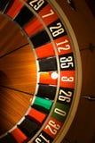 Het wiel van de roulette Stock Foto's