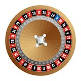 Het wiel van de roulette vector illustratie
