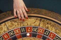 Het Wiel van de roulette Royalty-vrije Stock Afbeeldingen