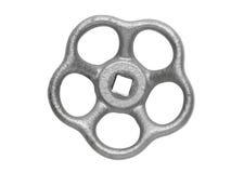 Het wiel van de Silberhand op wit Stock Foto