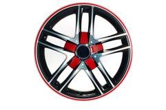 Het wiel van de sportwagen Royalty-vrije Stock Fotografie