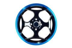 Het wiel van de sportwagen Stock Afbeeldingen