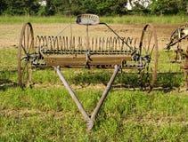 Het wiel van de tractor Stock Foto's