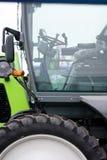 Het wiel van de tractor royalty-vrije stock foto's