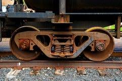 Het wiel van de trein Royalty-vrije Stock Afbeelding