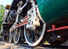 Het Wiel van de trein royalty-vrije stock fotografie