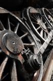 Het wiel van de trein Stock Foto's