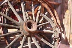 Het wiel van de wagen Royalty-vrije Stock Foto