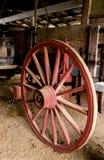 Het wiel van de wagen Royalty-vrije Stock Foto's