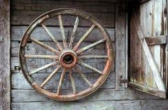 Het wiel van de wagen Royalty-vrije Stock Afbeeldingen