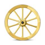 Het wiel van de wagen. Vector illustratie. Royalty-vrije Stock Foto