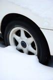 Het wiel van de winter Royalty-vrije Stock Foto