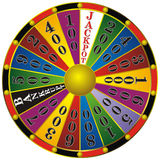 Het wiel van het fortuin Stock Fotografie