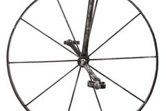 Het wiel van het ijzer Stock Afbeelding