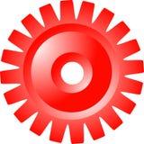Het wiel van het radertje Stock Afbeelding