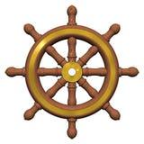 Het Wiel van het schip Royalty-vrije Illustratie