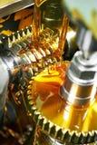 Het wiel van het tandtoestel het machinaal bewerken stock foto