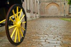 Het wiel van het vervoer Stock Foto's