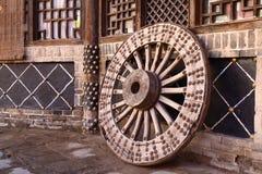 Het wiel van het vervoer Royalty-vrije Stock Afbeeldingen