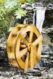 Het wiel van het water stock foto's