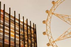 Het wiel van Melbourne Royalty-vrije Stock Afbeeldingen