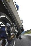 Het wiel van Motobike Stock Fotografie