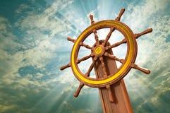 Het wiel van schepen royalty-vrije stock afbeelding