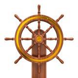 Het wiel van schepen Stock Foto's