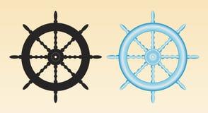 Het wiel van schepen Vector Illustratie