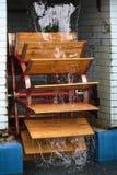 Het wiel van watermill Stock Foto