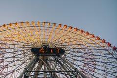 Het wiel van Yokohamaferris Stock Foto