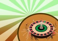 Het wielachtergrond van de roulette Royalty-vrije Stock Foto