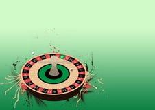 Het wielachtergrond van de roulette Royalty-vrije Stock Afbeeldingen