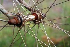 Het wielhub van de cyclus stock fotografie