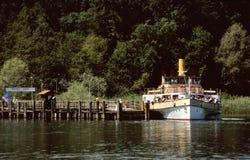 Het wielstoomboot van de peddel Stock Foto