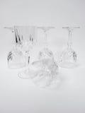 het wijnglas stelt samen Royalty-vrije Stock Afbeelding