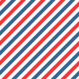 Het wijnoogst gestileerde naadloze patroon van Barber Shop Stock Foto