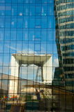 Het wijzen van op kubus van de Defensie van La Stock Fotografie