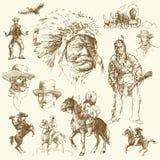 Het wilde westen Royalty-vrije Stock Afbeeldingen