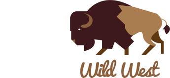 Het wilde westen Stock Foto's